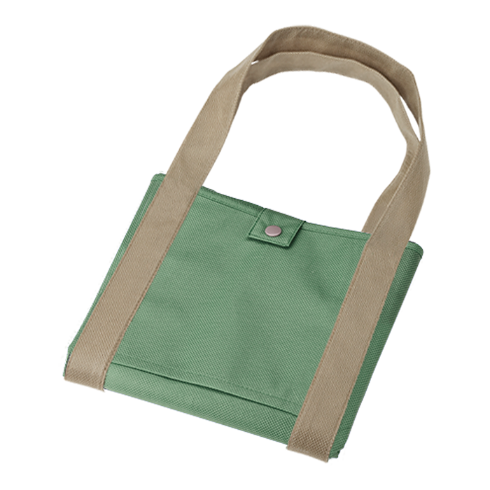 BB0005 - Folding Shopper With Snap Closure - Non-W