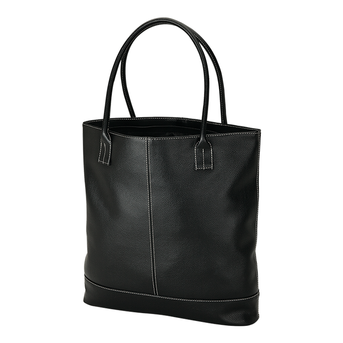 BB0033 - Lichee Tote With Zippered Closure