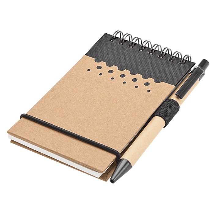 BF0005 - Recycled Jotter Pad and Pen