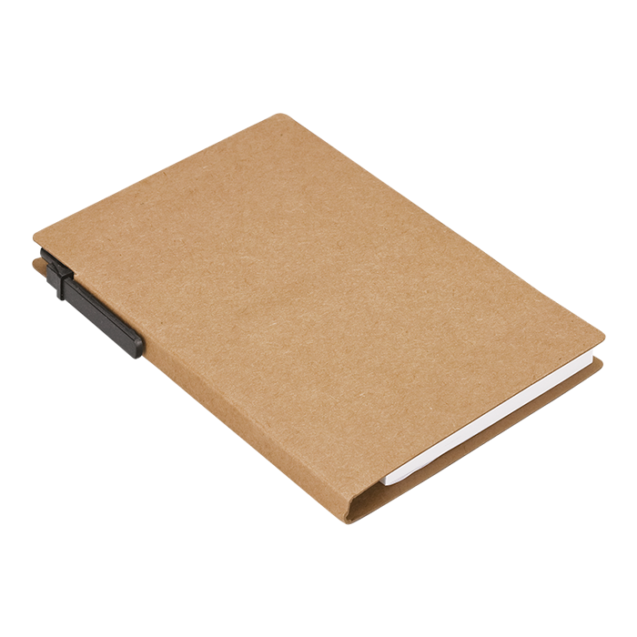BF0010 - Recycled Notebook With Pen And Flags