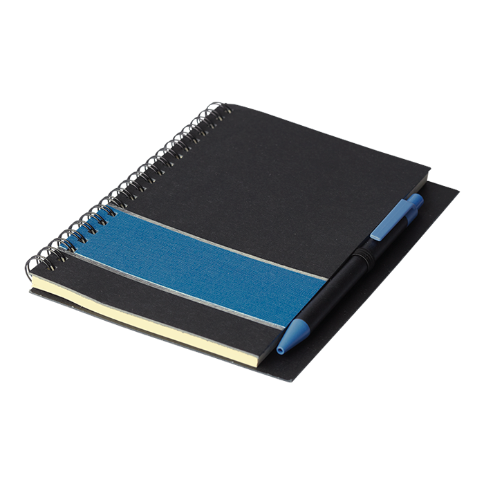 BF0052 - Coloured Stripe Notebook with Pen