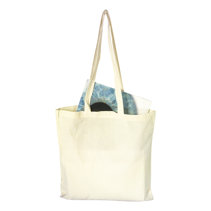 BB2342 - Cotton Shopper with Long Handles