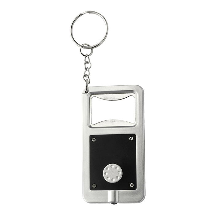BK1991 - Keychain with Bottle Opener and LED Light