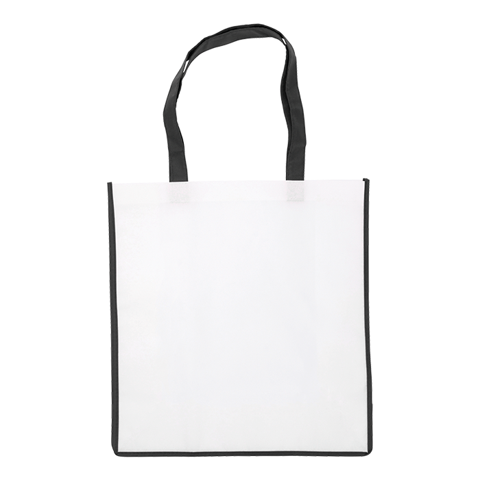 BB3610 - Non Woven Shopper with Coloured Trim