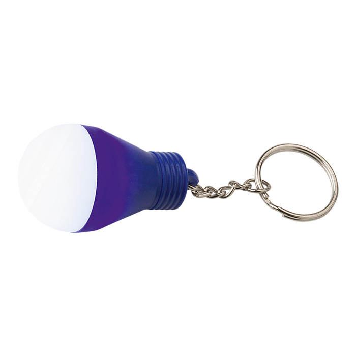 BK7243 - Light Bulb Shaped Keychain