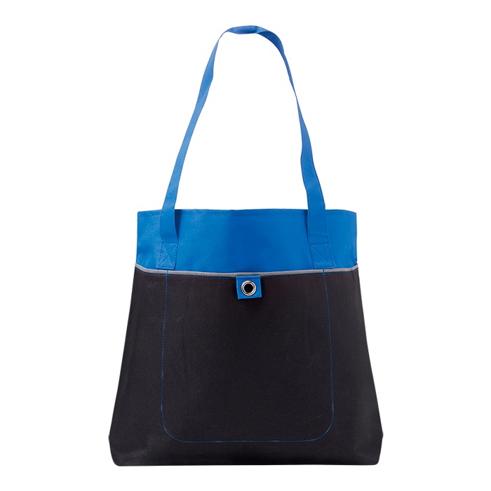 BB7659 - 600D Shopper with Front Pocket