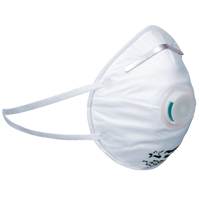 Dust Masks - SABS Approved - FFP2 with valve (Box