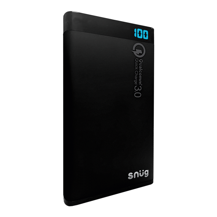 SN0014 - Snug Quick Charge 3.0 Power Bank - 8000 m