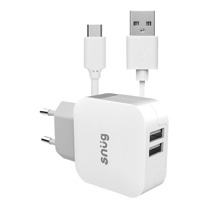 SN0010 - Snug Home Charger With USB Type-C Charge