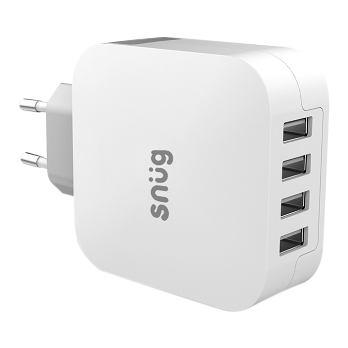 SN0005 - Snug 4 Port USB Home Charger