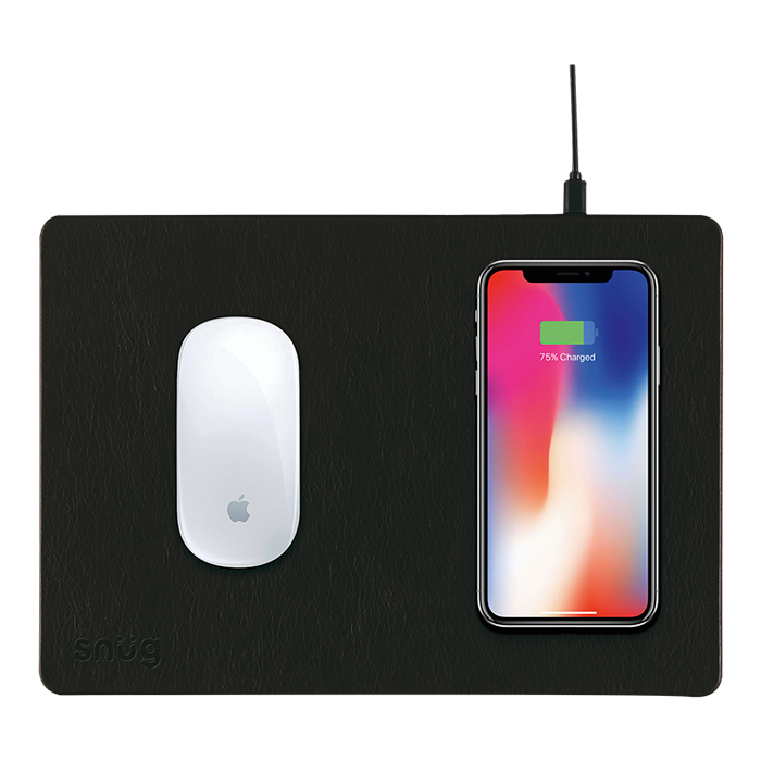 SN0018 - Snug Mousepad With Wireless Charger